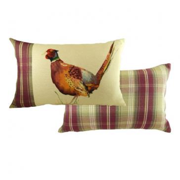 Pheasant Cushion (Rectangular)