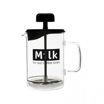 Modena Milk Frother, Heat-resistant glass pot