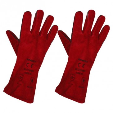 Heat Resistant Gloves (Red)
