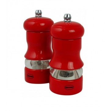 Red Salt & Pepper Mill Set