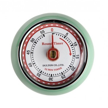 Retro Green 60 minute Kitchen Timer