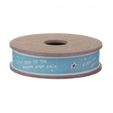 Love you to the Moon and Back Ribbon