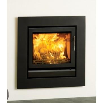 Stovax Riva 50 Jet Black Metallic fireplace
