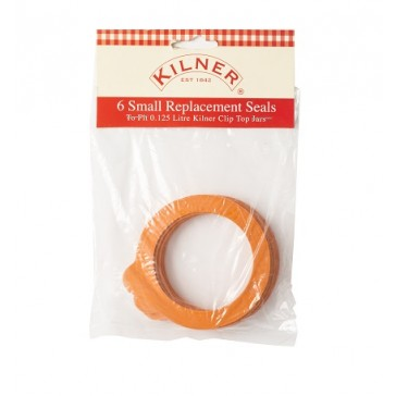 Kilner Rubber Bands - Replacement seals for Clip top Jars 125ml
