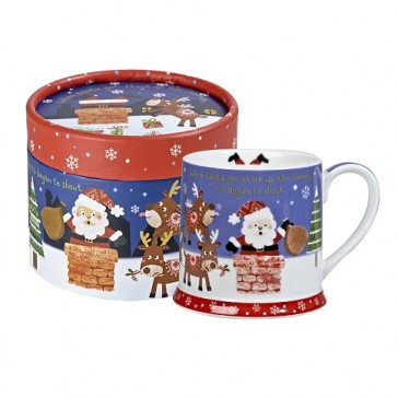 Gift Boxed Santa Mug - Christmas