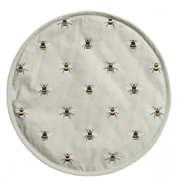 Bees Circular Hob Cover by Sophie Allport.