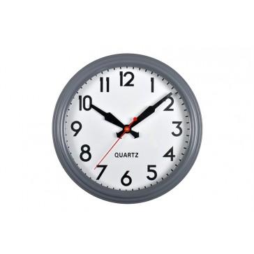 Smithfield Clock in Charcoal - 38cm diameter