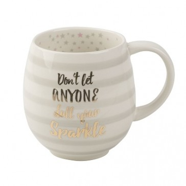 Sparkle Tulip Ceramic Mug by Creative Tops
