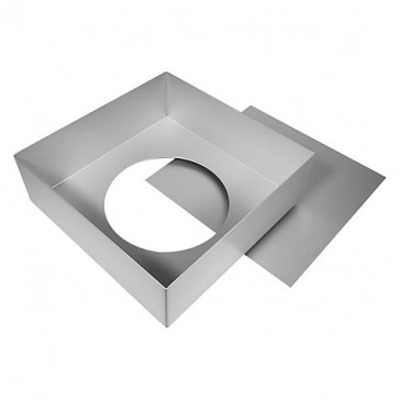 Anodised Square Sandwich Pan