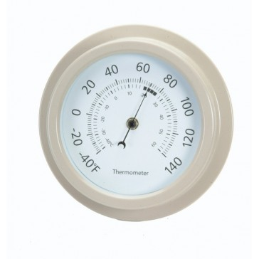 Wall Thermometer in Clay by Garden Trading