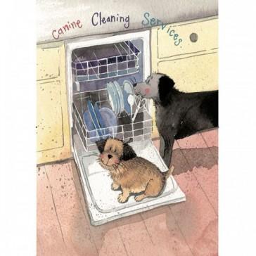 Alex Clark Canine Cleaning 100% Cotton Tea Towel