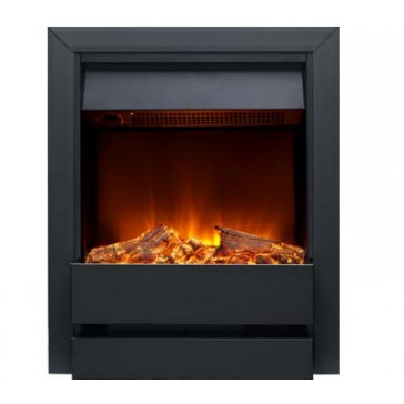 Wardley Electric Fire in Black