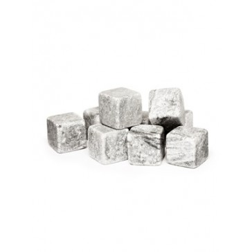 Granite Whiskey Stones for cooling drinks without diluting