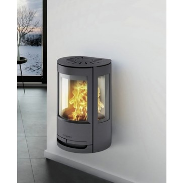 Wiking Luma One wall hung stove