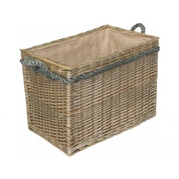 Medium Rectangular Log Basket