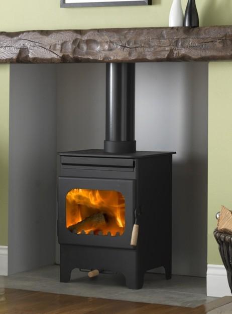 Burley debdale stove burley 9104 wood burning stove - Small space wood stove model ...