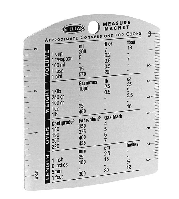 Stainless Steel Measure Magnet