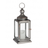 Antique Bronze Industrial Lantern