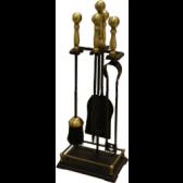 Black & Antique Companion Set - Gallery