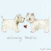 Canvas Print 'Welcoming Westies' by Alex Clark