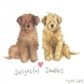 Canvas Print of 'Delightful Doodles' by Alex Clark