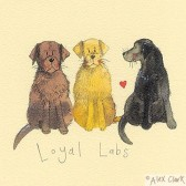 Canvas Print of 'Loyal Labs' by Alex Clark
