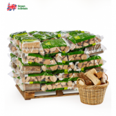 Certainly Wood Pallet of 50 Bags Logs