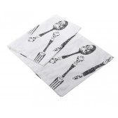 Cutlery Cotton Table Runner