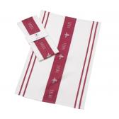 Parlane Miel Claret Tea Towel