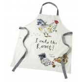 Rule the Roost Cotton Apron