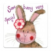 Some bunny very special Coaster - Alex Clark