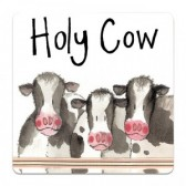 Holy Cow Coaster - Alex Clark