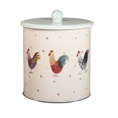 Alex Clark Rooster Biscuit Tin