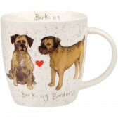 Alex Clark Barking Borders Mug