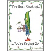 Bean Cooking Tea Towel