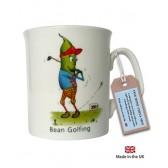 Bean Golfing Mug