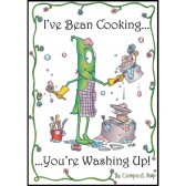 I've Bean Cooking Cotton Tea Towel