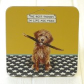 The Little Dog Best Things Coaster