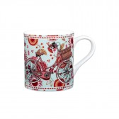 I Like To Ride My Bicycle Mug - Lady