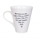 Porcelain Mug - You Are Braver Mug