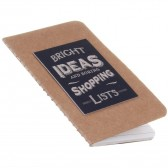 Bright Ideas and Boring Shopping Lists - Small Notebook