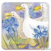Alex Clark - Three Ducks Coaster