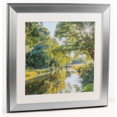 Canalside Sunburst II Framed Picture by Assaf Frank