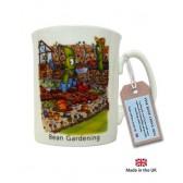 Bean Gardening China Mug