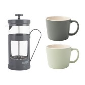 La Cafiteiere Coffee Gift Set Grey