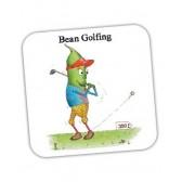 Bean Golfing Coaster