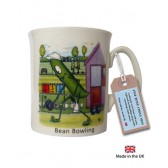Bean Bowling China Mug