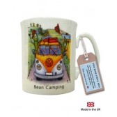 Bean Camping China Mug
