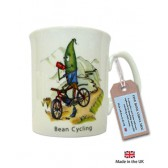 Bean Cycling China Mug
