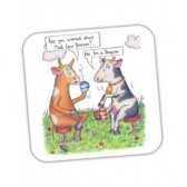 Mad Cow Coaster